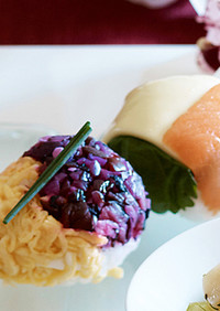 カラフル手まり寿司