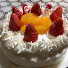 簡単!クリスマスケーキ