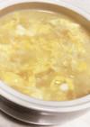 10分でできる卵と味噌のおかゆ