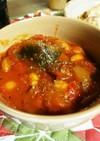 ココナッツ香るしっかり食べるトマトスープ