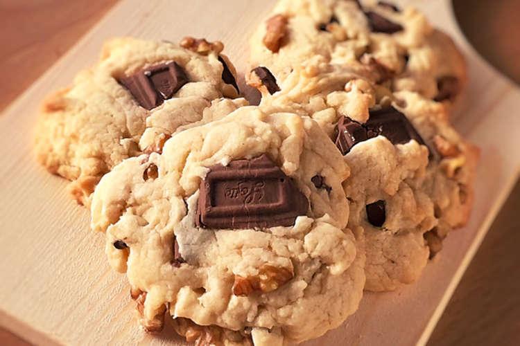 チョコ チャンク クッキー 【みんなが作ってる】 チョコチャンククッキーのレシピ