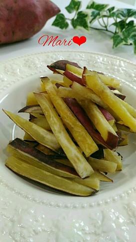 《レンジ&オーブン》簡単安いおやつ干し芋