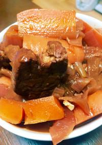 圧力鍋で☆豚ヒレ肉の赤ワイン煮