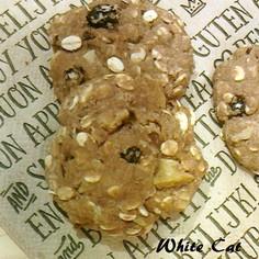 食物繊維たっぷり! 押し麦ココアクッキー
