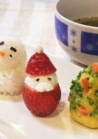 犬ごはん☆「クリスマスプレート」