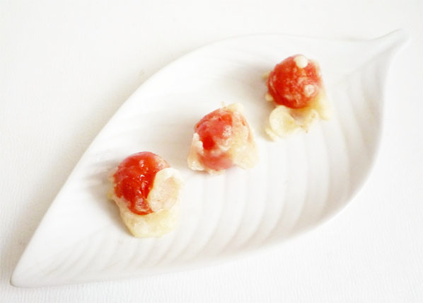 プチトマトの天ぷら