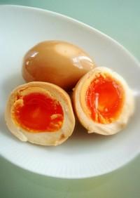 簡単ごま油香る 味付け卵