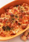 ラタトゥイユリメイク★鶏のチーズ焼き♬