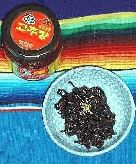 大根と昆布のコチュジャン風味佃煮