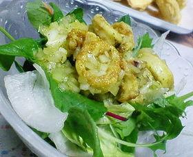 イカのカレー味サラダ