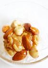 くずきりのハニーナッツソース