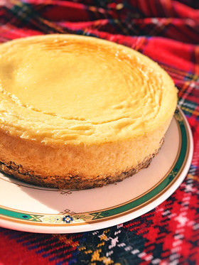 糖質制限◆簡単濃厚ベイクドチーズケーキ