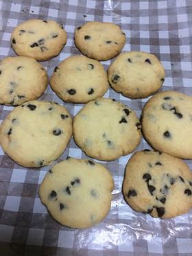 美味しい!サクサクチョコチップクッキー