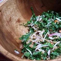 麦とケールのデリ風サラダ