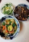 初料理3品(血管ダイエット食1053)