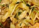 牛肉ともやしと葱の炒め煮