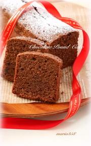★チョコパウンドケーキ★の写真