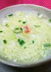カニ足リメイク★カニと卵のふわとろスープ