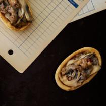 牛肉と舞茸タルト