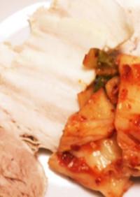 圧力鍋で簡単ポッサム。韓国の蒸し豚茹で豚