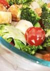 ブロッコリーと竹輪のサラダ