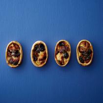 チキンと栗とクランベリーの豆乳キッシュ風タルト