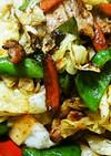 豚バラカルビの回鍋肉