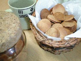 さくさくサブレクッキー(ココア味)