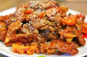 [韓国料理]豚肉コチュジャン炒め