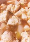 油はたった1/2低カロリーの鶏のつくね鍋