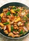 さつま芋と鶏肉で酢鶏風♪おいしい甘酢炒め