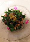 オイルサーディンとパクチーのサラダ