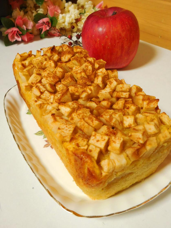 HMでりんごたくさんパウンドケーキ