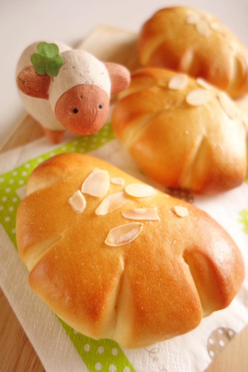 全卵で作る(クリーム)クリームパン