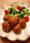 揚げない✱わが家のふわふわ肉だんご
