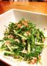 ツナと水菜のシャキシャキマヨ和えサラダ