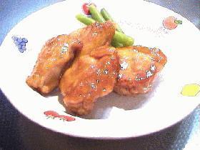 鶏の鍋照り焼き