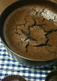 小麦粉不使用チョコレートケーキ