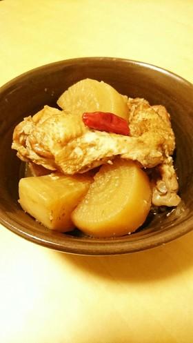 鶏手羽元と大根の黒酢さっぱり煮
