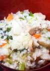 七草がゆ(我が家流)鹿児島の味