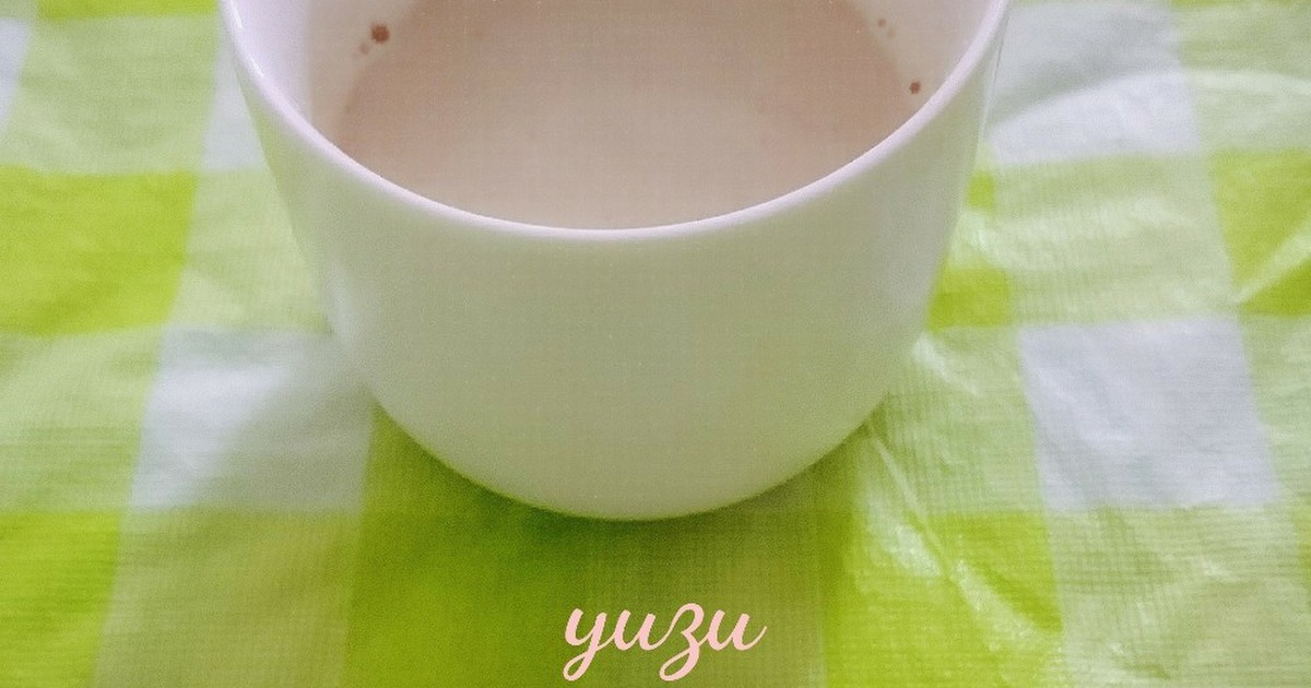 寒い日に癒される♪きな粉のホットミルク by ゆず☆ななみ ...