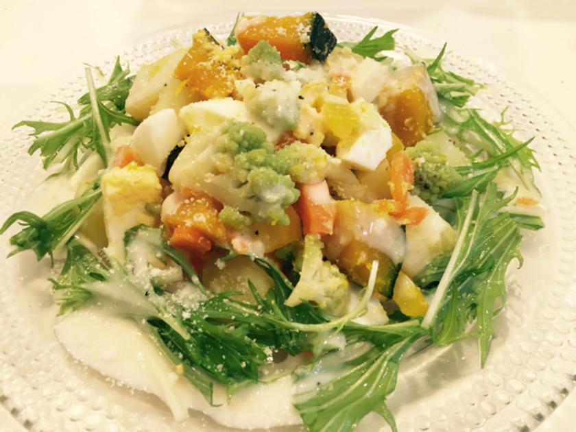 温野菜サラダ✨シーザーハニードレッシング