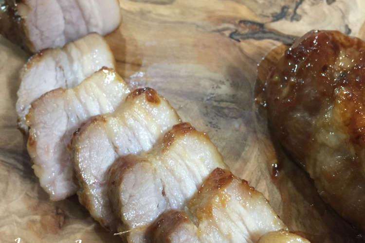 作り方 豚 バラ チャーシュー の