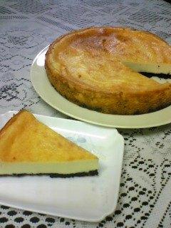 なめらかチーズケーキ☆