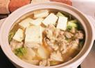 スープが絶品!味噌ラーメン風、鶏味噌鍋!