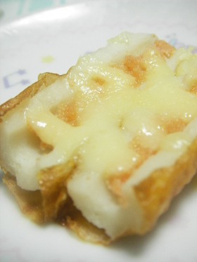 ✿簡単おつまみ✿ちくわde明太子チーズ