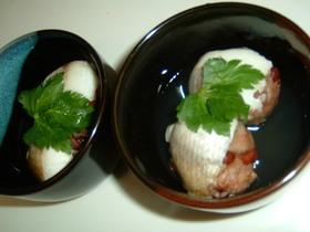 鯛の赤飯蒸し