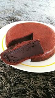 ◆◇◆炊飯器とHMでチョコケーキ◆◇◆の写真