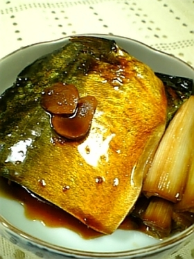 簡単♪鯖の甘辛煮