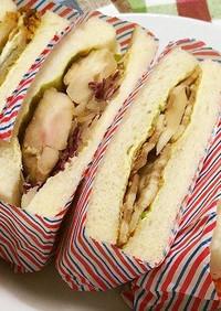 具だくさんサンドイッチ4品Ⅲ